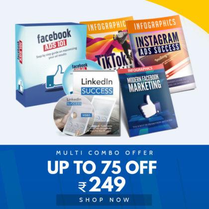 Facebook + Instagram + Tik Tok + Linkedin Ads Marketing Video Course