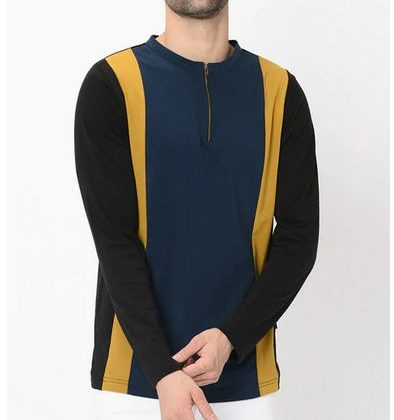 Solid Slim Fit Crew- Neck T-shirt