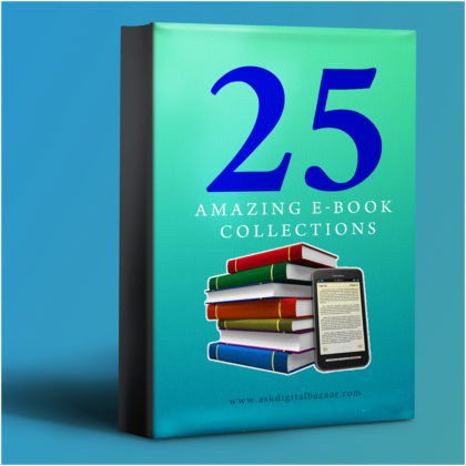 25 Amazing eBook Collections -Just ₹199/-