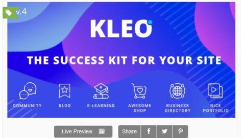 KLEO - Pro Community Focused, Multi-Purpose BuddyPress Theme