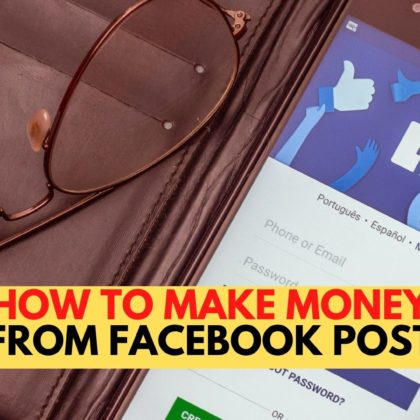 How To Make Money From Facebook Post |Facebook Earn Money